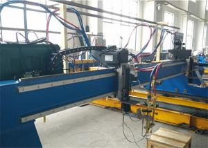 China Flame Plasma CNC Cutting Machine / Plasma Arc Cutting With Hypertherm Powermax85 Plasma Power on sale