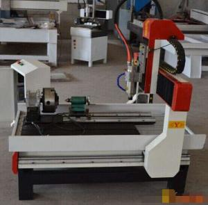 China High quality and chinese Jinan cnc router machine price/4 axis 6090 cnc router on sale