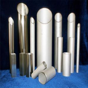 China 201 Bevel Seamless Stainless Steel Pipe Polish Finished AISI201 0.8mm Thickness Tube on sale