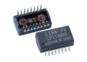 China HF-81606T Isolated Ethernet Lan Transformer Module ,16 Pins LP1188NL Magnetics on sale