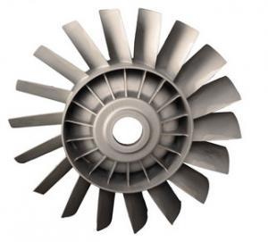 China Durable Precision Casting Parts Reliable Zinc Turbine Blade on sale