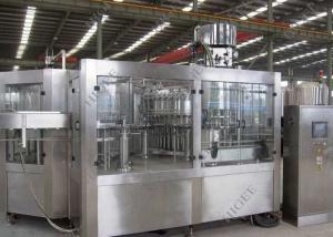 China Carbonated Drink Gas Can Filling Machine Electric Driven Automatic Grade on sale
