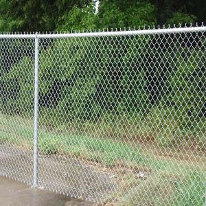 China high quality best price galvanized and PVC coated chain link fence(direct factory) on sale