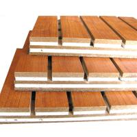 China Decorative Sound Absorbing Wall Panels Hotel Wooden Acoustic Ceiling Board on sale