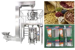 China Fully PLC Automated Granule Packing Machine For Seeds / Peanut / Dry Fruits on sale
