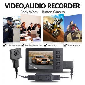 China Мини кулачок рекордера камкордера камеры кнопки ХД 1920*1080П шпиона спрятанный видео, рекордер принуждения on sale