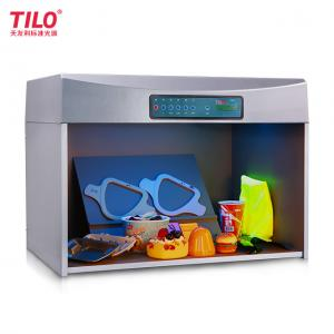 China TILO T60+ 5 Light Sources D65 6500K Color Assessment Cabinet Color Light Box for t-shirt clothes Color Difference Check on sale