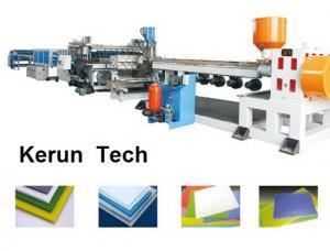 China A placa da espuma da maquinaria da extrusão dos plásticos/PVC que faz a máquina para o falso marmoreia on sale