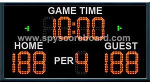 China Portable Electronic Basketball Scoreboard, Sports Scoreboard Timer Display on sale