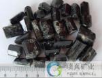 Decoration healing health rough Tourmaline stone/natural black Tourmaline powder