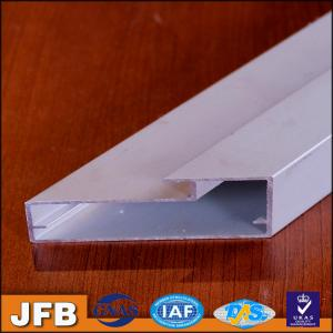 2017 New Design Kitchen Cabinet Aluminium Profile Frame Powder