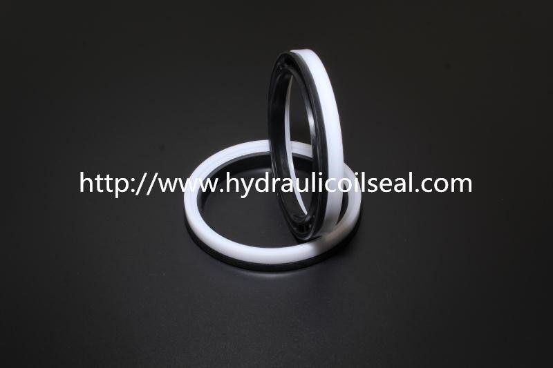 China Nitrile -Butadiene Rubber Black & White OHM Hydraulic Piston Seals / Adjuster Seal supplier