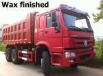 LHD 6X4 SINOTRUK HOWO Tipper Dump Truck Euro 2 336HP Engine HYVA middle Lifting