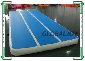 China Customized PVC Mat Inflatable Sport Game For Gymnastics Floor Tumble Track on sale