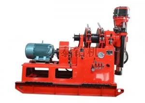 China Mini Small Deep Hydraulic Rotary Drilling Rig 12.1KW Power Strong Stablebility on sale