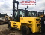 FD160 Used Diesel Forklift Truck Yellow Color 94 KW Nominal Power