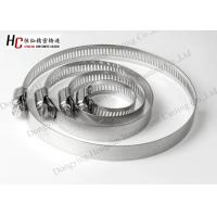 China stainless steel 4/6/8/10/12 worm drive clamps hose pipe clamp on sale