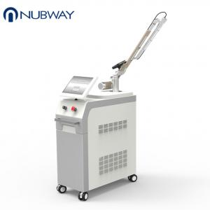 China Nubway professional whitening skin rejuvenation pigment q switched nd yag laser for clinic on sale