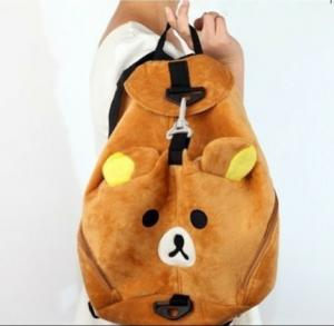 China Leisure Soft bear toy's bag girls backpack on sale