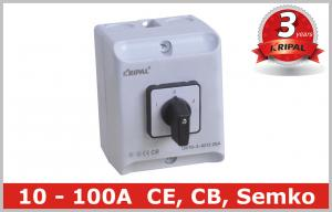 China Industrial 3 Pole Selector Switch Box Automatic Changeover Switch on sale