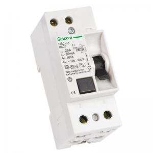 China Main Residual Current Circuit Breaker Replacementfor Earth Fault / Leakage Current Occurs on sale