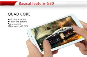 China 4g communication tablet MTK8372 quad-core android system on sale