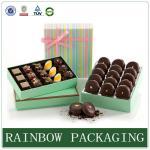 包むチョコレート紙箱ギフト包むことのためのプロダクト包装箱