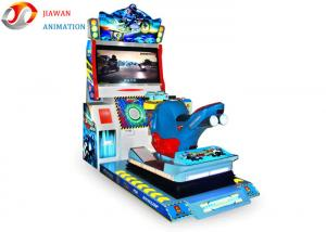 China 3d Motion Street Racing Simulator Game Machine , Arcade Racing Car Machine Games on sale