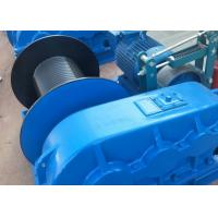 China Industry Cable Pulling 10T Heavy Duty Electric Winch on sale