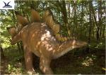 China Robotic Sightseeing Realistic Dinosaur Models , Life Size Dinosaur Models  wholesale
