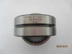 China Stainless Steel Needle Roller Bearings / Needle Roller Thrust Bearing F-53673 on sale