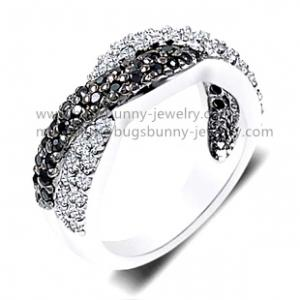 China gems and crystals unique sterling silver jewelry cremation rings on sale