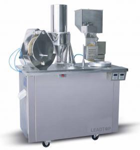 China Micro Computer Control Capsule Filling Machine Powder / Pellet Semi Automatic on sale