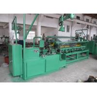 High Efficiency Chain Link Fence Machine Full Automatic PLC Control With Servo Motor