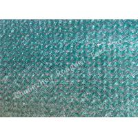China 3 x 50m PE Coated HDPE Waterproof Outdoor Shade Fabric / Sun Shade Netting Green or Blue on sale