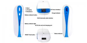 China Wireless Router WiFi 3G Mobile Charger, Router Sharing, Convenient Mobile Multimedia, 5200mAh Battery on sale