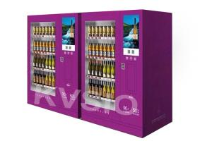 China Multi Touch Alcohol Auto Vending Machine Remote Management System 1 Year Warranty on sale