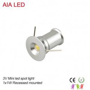 China 1W 3V IP42 indoor LED spot light/LED led down light for showroom ceiling/led spot lamp on sale