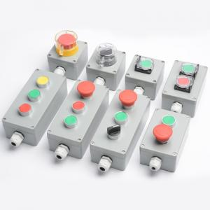 Outdoor Pushbutton Switch Station Box Die-cast Aluminum Case