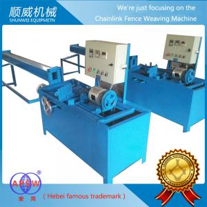 China Easy Operate Automatic Chainlink Fence Weaving Machine with High Quality on sale