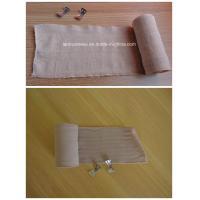 Elastic Bandag Cotton Crepe Bandage for Medical Supply
