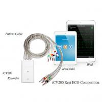 Ipad V&H Simultaneous 12 Channel ECG Machine With Bluetooth Transmission