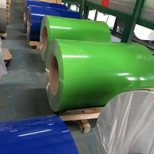 China 1050 1060 H24 Color Coated Aluminum Coil Thin Thickness Smooth Surface on sale