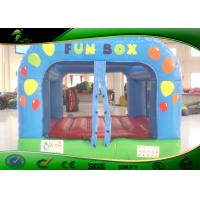 Inflatable Bouncy Castle Slide For Playground , Commercial Grade Bounce House