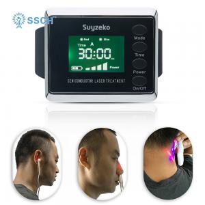 China Low Level Laser Healing Device , Laser Therapy Watch For Blood Pressure Reducing on sale