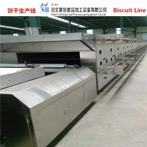 China SAIHENG biscuit production line automatic gas and electric type / biscuit making machine / biscuit making machinery on sale