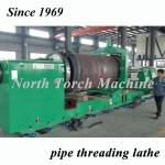 Energy Saving Pipe Lathe Machine Low Noise For Mining Pipe High Performance