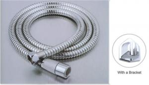 China 120CM Chrome Plated Shower Hose , Double Lock Shower Hose ACS Certification on sale