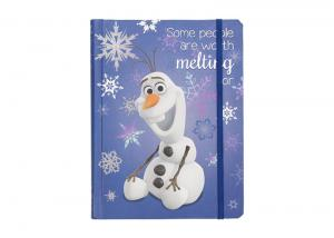 China School Small Custom Printed Notebooks With Custom Pages Snowflake Glitter on sale