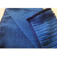 "Ultra-Absorbent Blue Microfiber Kitchen Towels For Kitchen Cleaning 12"" x 16"""